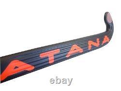 36.5 Light Weight Low Bow Katana Ikko Field Hockey Stick, 90% Carbon Slim Shaft