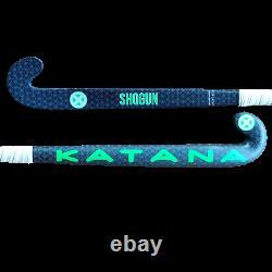 36.5 Light Weight Low Bow Katana Shogun Field Hockey Stick, 95% Carbon, Grooved