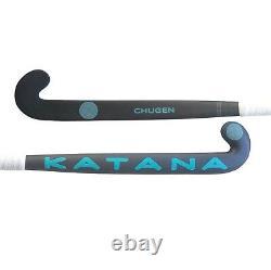 37.5 Light Weight Low Bow Katana Chugen Field Hockey Stick, 95% Carbon, 3D Head