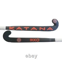 37.5 Light Weight Low Bow Katana Ikko Field Hockey Stick, 90% Carbon Slim Shaft