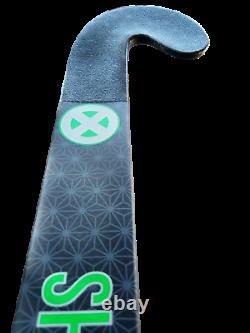 37.5 Light Weight Low Bow Katana Shogun Field Hockey Stick, 95% Carbon, Grooved