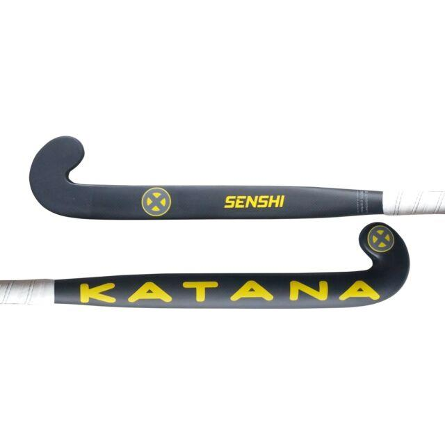 38.5 Light Weight Mid Bow Katana Senshi Field Hockey Stick, 90% Carbon