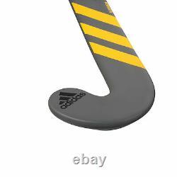 Adidas AX24 Compo 1 Composite Field Hockey Stick Grey/Yellow 37.5SL