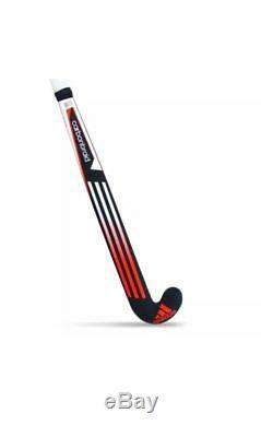 Adidas Carbon Braid 1.0 Hockey Stick With Free Grip And Hockey Bag 37.5