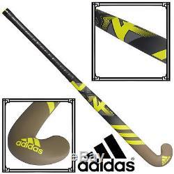 Adidas LX24 Compo 4 Field Hockey Stick Cargo Yellow Carbon Glassfibre Composite
