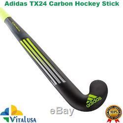 Adidas TX24 Carbon Composite Hockey Field Stick Size 37.5 Free Grip+Carry Bag