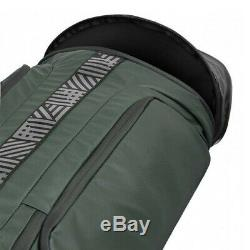 Adidas Unisex U7 Large Hockey Stick Bag Green Sports Pockets Zip Pocket