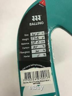 Authentic Balling Field Hockey Stick Green Fluorite Size 36.5 Made in Pakistan