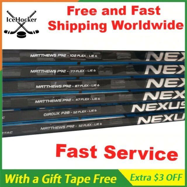 Bauer Nexus 2n Pro Stock Hockey Stick 50/65/77/87/102 Flex P92 Left/right Handed