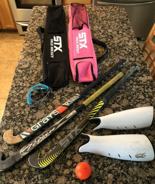 Everything You Need Field Hockey Game/practice Sticks Bags Eye Prot Shin Guards
