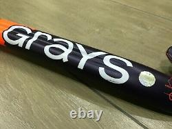 GRAYS GR6000 Probow Extreme Field Hockey Stick Navy, Orange (Used)