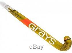 Grays GR8000 Dynabow Field Hockey Stick 38 (2018/19)+FREE GRIP &BAG