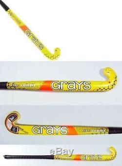 Grays Gr 11000 Pro Jumbo Composite Hockey Stick + Free Bag & Grip 37.5