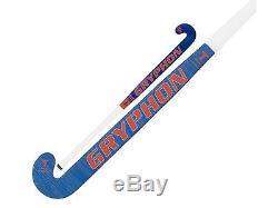 Gryphon Taboo Blue Steel T-Bone Hockey Stick (2017/18), Free, Fast Shipping