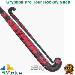 Gryphon Tour Pro Composite Field Hockey Stick size 36.5 Free Grip+Carry Bag