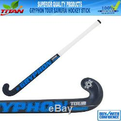 Gryphon Tour Samurai 2017 Composite Field Hockey Stick Size 37.5 Free Grip/bag