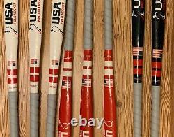 Harrow USA Field Hockey Sticks HRW 25mm, 8 Pcs, Two 36, Three 34, Three 32