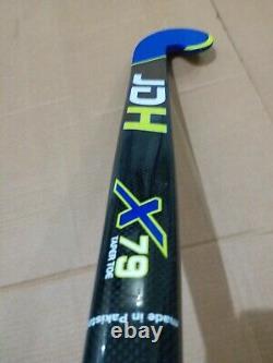 JDH X79 Low Bow COMPOSITE FIELD HOCKEY STICK FREE GRIP & BAG