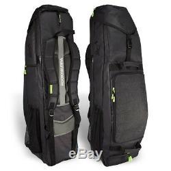 Kookaburra Hockey Team Bag Black 6 Stick Large Durable Training Holdall DEAL