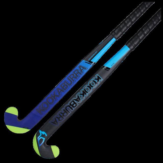 Kookaburra Rapid Hockey Stick Carbon L Bow Extreme 2.0 Dual Core Reinforced Edge