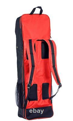 Malik Jumbo Field Hockey Stick Bag Training / Travel Coral Navy New