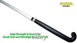 Model Field Hockey Stick Low Bow Profile CN-5000 100% High Carbon Without Logo