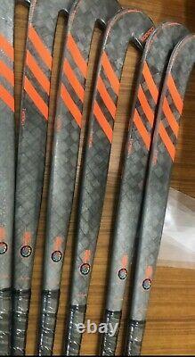 New Adidas DF24 Kromaskin Composite Field Hockey Stick Silver/Orange 2020/2021