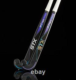 STX Field Hockey Surgeon XT 701 Field Hockey Stick, Black/Purple, 36.5
