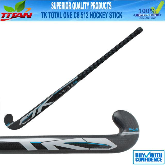 Tk Total One Carbon Braid 512 Composite Field Hockey Stick Size 37.5 Grip/bag