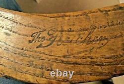 The Fletcher Antique Field Hockey Stick Slazengers Ltd London English Ash