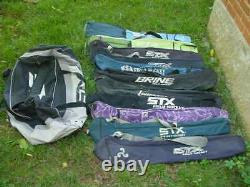 USED FIELD HOCKEY STICK BAGS in LARGE STX TRAVEL BAG NO STICKS BAGS ONLY