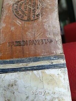 Vintage 1948 Field Hockey Stick Signed By The Whole Pakistani Team