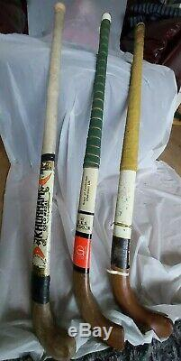Vintage Field Hockey 1948 Olympic Gold Sticks set of 3