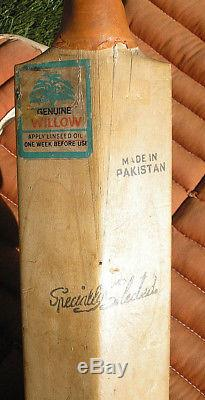 Vintage Lacrosse Chest Protector, Cricket Bat & Field Hockey Stick, Sports Bar